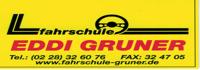Fahrschule Eddi Gruner Logo